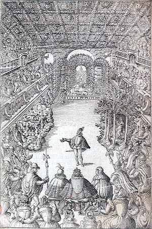 Hôtel du Petit-Bourbon - The Ballet Comique de la Reine at the Petit-Bourbon, 1581