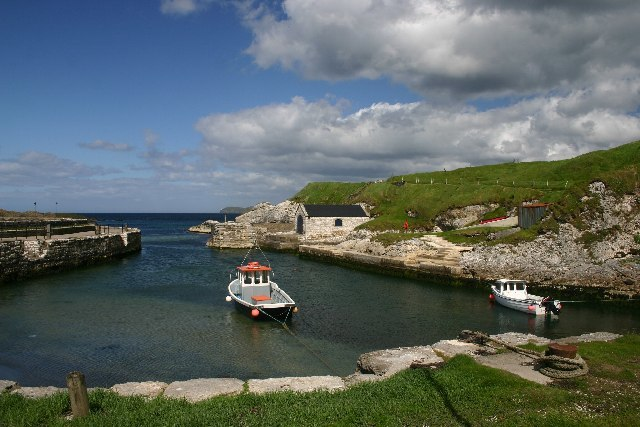 Ballintoy Harbour - geograph.org.uk - 19750