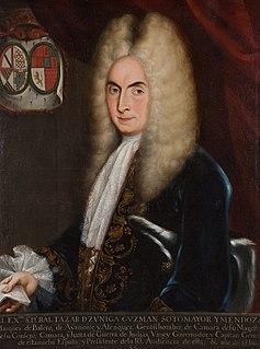 Baltasar de Zúñiga, 1st Duke of Arión Spanish viceroy of New Spain