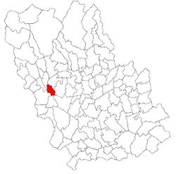 Vị trí của Bănești