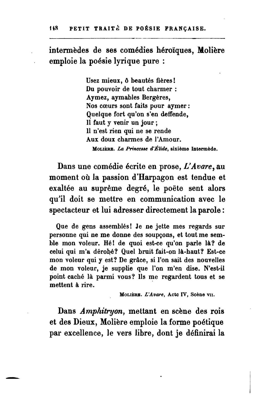 page banville petit trait 233 de po 233 sie fran 231 aise 1881