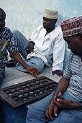 Bao players in stone town zanzibar.jpg