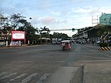 View of Puerto Princesa, the most sparsely populated city in the Philippines