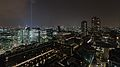 Barbican by night from The Heron (14711136049).jpg
