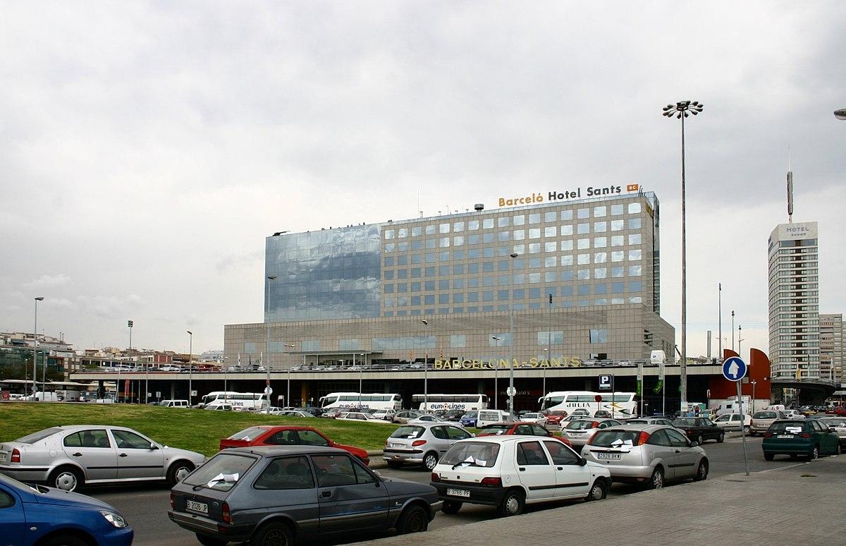 Estaci N De Barcelona Sants Wikip Dia