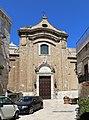 Bari, santa scolastica, facciata 01.jpg