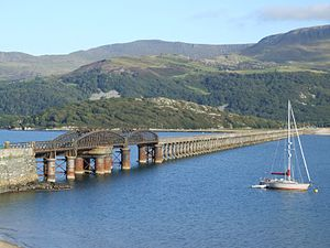 Aberystwith and Welsh Coast Railway - Barmouth Bridge in 2007
