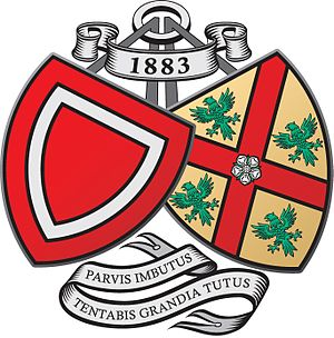 Barnard Castle School - Image: Barnard Castle School Crest