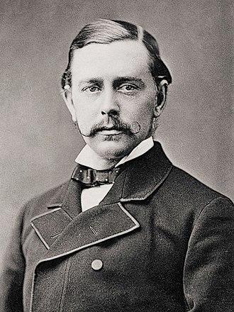 George Harris, 4th Baron Harris - Harris in the 1880s
