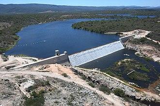Brumado - The dam of Cristalândia.