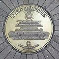 Barry Humphries Sydney Writers Walk plaque.jpg