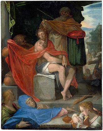 Bartholomeus Spranger - Ecce Homo