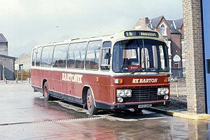 Trentbarton - Barton Plaxton Supreme bodied Leyland Leopard in 1993