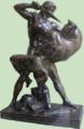 Barye - Thésée Minotaure-green.png