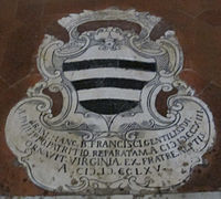 Basilica dei servi, siena 12 beato francesco patrizi.JPG