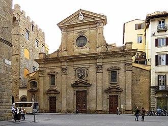 Santa Trinita - Facade