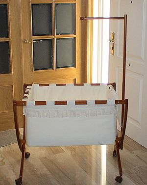 Bassinet - Movable, but not portable, home bassinet