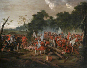 Battle of Malplaquet - Battle of Maplaquet by Louis Laguerre