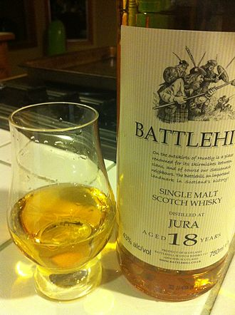 Jura distillery - A single malt from the Jura distillery packaged and aged by an independent bottler.