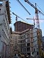 Baustellen Arbeiterkammer Linz und Power Tower.jpg