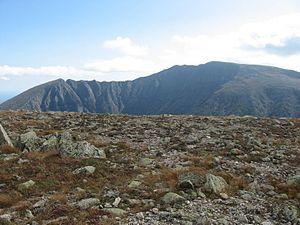 Hamlin Peak - Image: Baxter Peak from Hamlin Peak