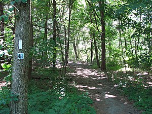 Bay Circuit Trail - At Monument Street in Concord