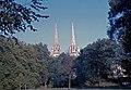 Bayonne-La cathédrale vue des glacis-1964 08.jpg