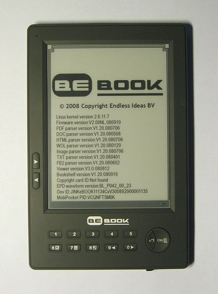 Bebook touch firmware update.