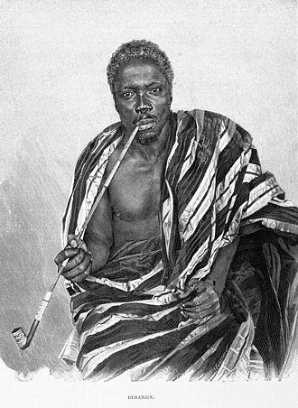 Béhanzin - King Béhanzin, c.1895