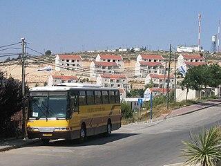 Beit El Israeli settlement in the West Bank