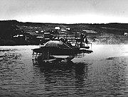 Bell HD-4 on a test run c. 1919