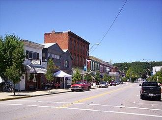 Bellville, Ohio - Downtown Bellville on Main Street in 2008.