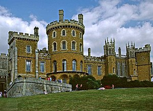Belvoir, Leicestershire - Image: Belvoir Castle geograph.org.uk 50333