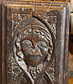 Bench End, St Andrew's Church, Trent, Dorset.jpg