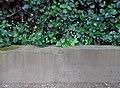 Benchmark, Sefton Park perimeter wall 03.jpg