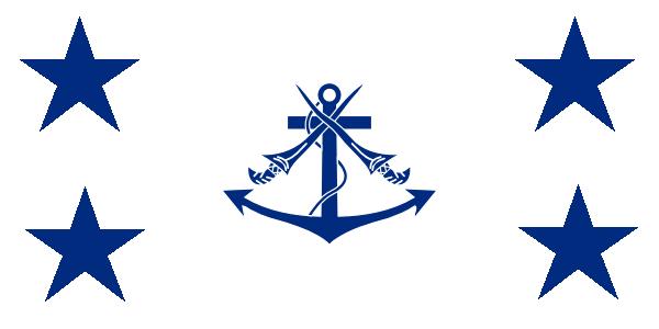 Bendera Laksamana TLDM