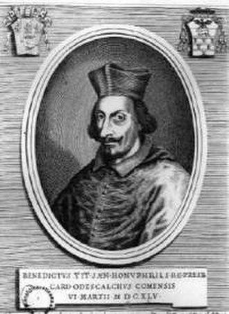 Pope Innocent XI - Cardinal Odescalchi
