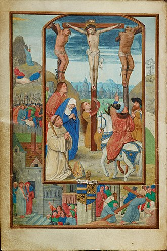 Simon Bening - Image: Benedictional of Robert de Clercq