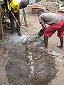 Benin Bronze Smiths At Work 01.jpg