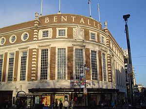 Bentalls - Bentalls facade in Kingston