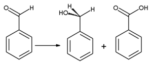 Benzaldehyde - Cannizzaro reaction