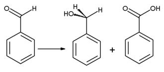 Benzaldehyde - Cannizzaro reaction