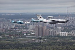 Beriev A-50 over Moscow on 6 May 2010.jpg