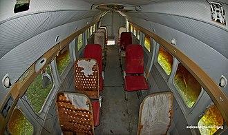 Beriev Be-30 - Be-32 cabin