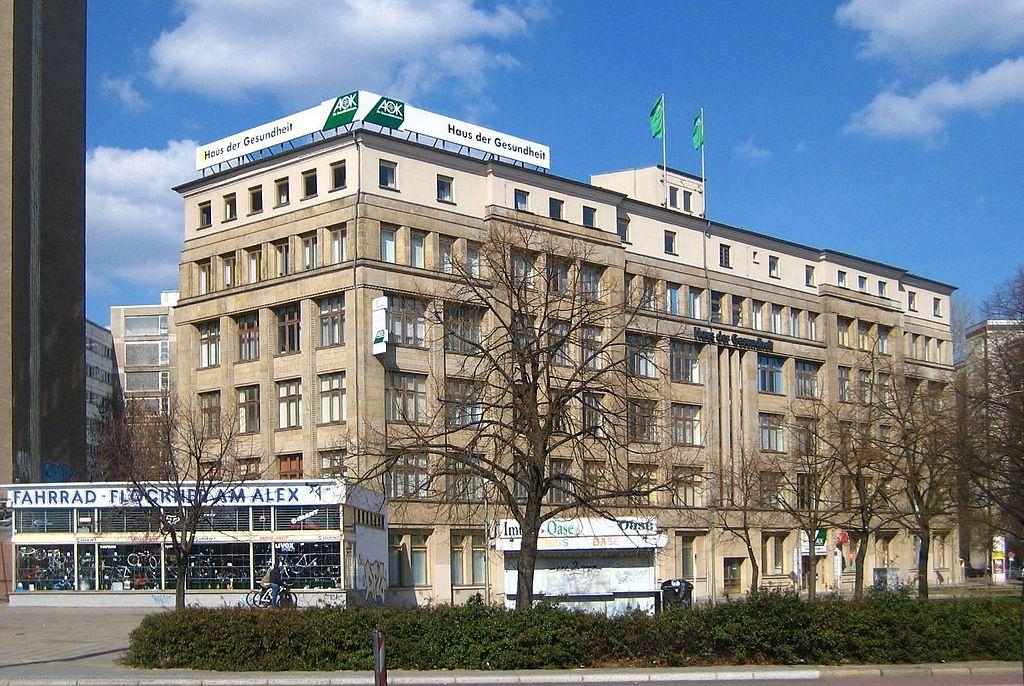 File Berlin Mitte Karl Marx Allee Haus der Gesundheit