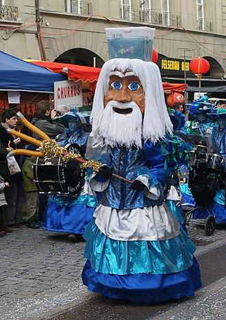 Carnival in Bern - Image: Berner Fasnacht 2010 029