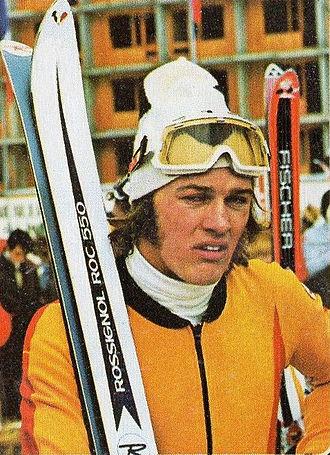 Bernhard Russi - Bernhard Russi in 1972