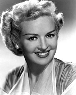 Betty Grable vuonna 1951
