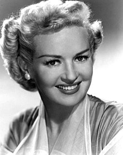 Betty Grable American model, actor, singer and dancer