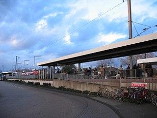 Leverkusen Mitte station railway station in Leverkusen, Germany